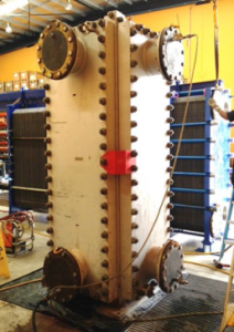 Pressure Test Welded PHE 212x300 - Servicing a Welded (BLOC) Plate Heat Exchanger